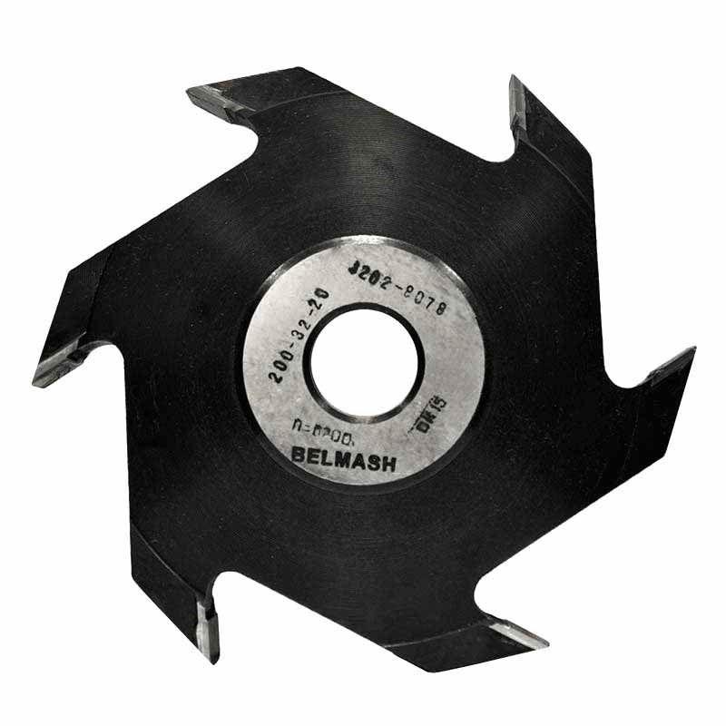 Фреза пазовая, БЕЛМАШ RF0079A 200х32х20 мм<br>Бренд: Belmash; Модель: RF0079A; Вид: Насадка; Форма: Пазовая; Материал: Твердый сплав; Рабочая высота: 84 мм; Длина: 200 мм; Внешний диаметр: 200 мм; Внутренний диаметр: 32 мм; Диаметр хвостовика: 32 мм; Обрабатываемый материал: Дерево; Количество в упаковке: 1 шт; Родина бренда: Беларусь; Страна производитель: Украина; Гарантия: Нет мес; Вес: 2,63 кг;