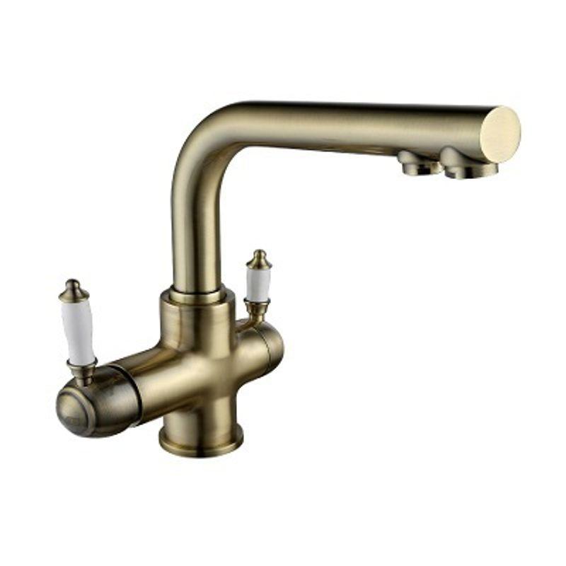 Смеситель для кухни c подключением к фильтру с питьевой водой Lemark Villa LM4861B