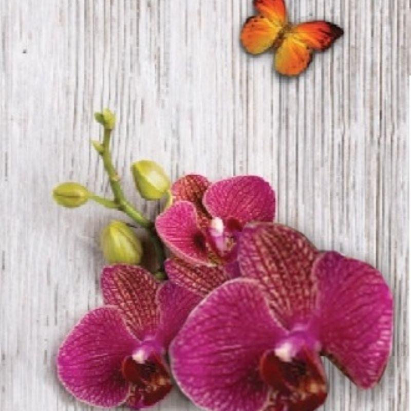 Панель ПВХ 0,250*2,7 м Цветы джунглей 0150Панель ПВХ 0,250*2,7 м Цветы джунглей 0150<br><br>Панель ПВХ для декоративной отделки стен и потолков внутри или снаружи помещения. Длина 2,7м Цвет Цветы джунглей (розовые орхидеи на сером фоне).<br><br>НАЗНАЧЕНИЕ:<br><br>Декоративная отделка стен в жилых и нежилых помещениях, ванных и туалетных комнатах, кухне и коридоре.<br><br>Наружная облицовка стен, отделка потолков.<br><br>Установка оконных откосов, отделка лоджий и балконов.<br><br>Монтаж экранов под ванную или раковину.<br><br>ПРЕИМУЩЕСТВА:<br><br>Прочность (материал изготовления &amp;ndash; поливинилхлорид - под нажимом не проминается, выдерживает высокие нагрузки, внутреннее ребро жесткости 1мм);<br><br>Универсальность (применение на разных поверхностях и в различных сочетаниях);<br><br>Удобство применения &amp;nbsp;и использования (лёгкий монтаж, очищение влажной тряпкой, длительный срок службы без потери эстетического вида, корректировка неровных стен, под панелями можно проложить проводку);<br><br>Экологичность (не токсичны, &amp;nbsp;не выделяют вредных веществ, рисунок из краски на водной основе, сверху покрыт лаком);<br><br>Тепло и звукоизоляция (подавляют шум и сохраняют тепло);<br><br>Дизайн (яркие цвета, различное сочетание, имитация под более дорогостоящие материалы, красивый законченный &amp;nbsp;цельный вид, видимые швы отсутствуют);<br><br>Влагостойкость &amp;nbsp;(выдерживают прямой контакт с водой, установка в помещении с повышенной влажностью - терраса, ванная комната, помещения бассейнов; не задерживают влагу, отсутствие плесени);<br><br>РЕКОМЕНДАЦИИ:<br><br>Не использовать в местах с высокой концентрацией УФ лучей.<br><br>Для монтажа потолка используйте стеновые панели. Потолочные панели на стену крепить не желательно, из-за более тонкой толщины пластика.<br><br>Монтаж панелей ПВХ:<br><br>В сухом помещении при ровном основании рекомендуется бескаркасная обшивка. На специальный клей панели монтируются &amp;nbsp;непосредственно к стенам или потолку,