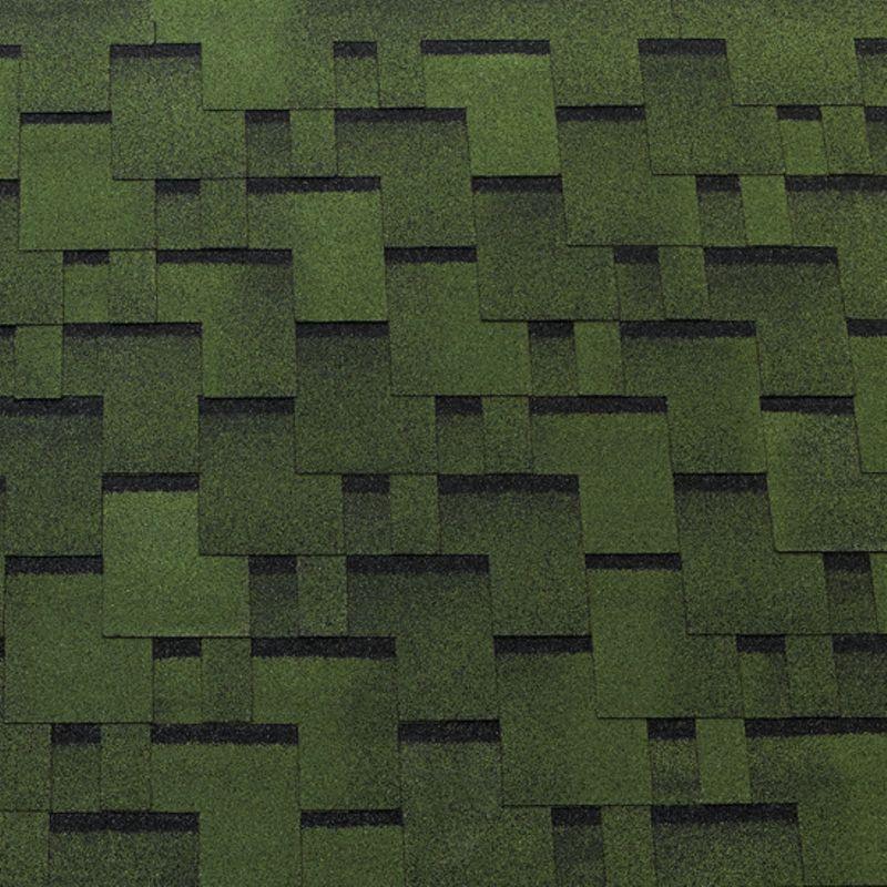 Черепица гибкая Tegola Top Shingle Футуро ЗеленыйЧерепица гибкая Tegola Top Shingle Футуро (зелёный)<br><br>Однослойное кровельное покрытие для строительных и ремонтных работ.<br><br>НАЗНАЧЕНИЕ:<br><br>Покрытие сверхпрочных (железобетонная плита) и прочных (фанера повышенной влагостойкости, шпунтованная, обрезная доска, ОСП) оснований.<br><br>ПРЕИМУЩЕСТВА:<br><br>Долговечность (базальтовая посыпка; дранка (нарезка); стеклохолст (основа); самоклеящийся слой с обратной стороны листа; устойчива к воздействию влаги, механическим повреждениям, ультрафиолетовому излучению);<br><br>Универсальность (подходит для крыш жилых домов и общественных зданий);<br><br>Удобство в использовании (лист с пазами для выравнивания; возможно выполнение коньковых элементов из металла).<br><br>РЕКОМЕНДАЦИИ:<br><br>Общие рекомендации:<br><br>Не рекомендуется работать в присутствии посторонних лиц, детей и животных;<br><br>При работе пользоваться средствами индивидуальной защиты (очки, перчатки, каска, мягкая обувь на плоской подошве), спецовкой;<br><br>Принять устойчивое положение для проведения работ. В рабочей зоне не должно быть посторонних предметов, которые могут привести к потере равновесия;<br><br>Использовать для резки черепицы нож с крючкообразным лезвием;<br><br>При выполнении работ (подрезка листов) рекомендуется подложить фанеру.<br><br>Рекомендации по хранению:<br><br>Хранить в сухом помещении, без доступа для детей, животных, посторонних лиц.<br><br>Рекомендации по применению:<br><br>Основание для монтажа должно быть сухим чистым ровным;<br><br>Провести разметку крыши с применением мелованной шнурки (&amp;laquo;отбивки&amp;raquo;);<br><br>Положить рулонные прокладочные материалы;<br><br>Положить лист с обрезанными лепестками (начальный ряд) по линии карниза, закрепить битумной мастикой (низ), кровельными гвоздями &amp;ndash; верх. Количество рядов укладки &amp;ndash; 7;<br><br>Обработать мастикой места соединения с металлическими фартуками и пр.;<br><br>Подогреть (при температуре