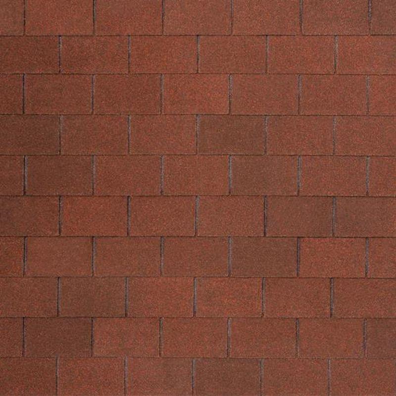 Черепица гибкая Tegola Nobil Tile Лофт Красно-коричневыйЧерепица гибкая Tegola Nobil Tile Лофт Красно-коричневый<br><br>Гибкая полимерная черепица красно-коричневого цвета прямоугольной формы (кирпичики) для создания качественной и прочной кровли.<br><br>НАЗНАЧЕНИЕ:<br><br>Используется для кровельных работ на скатной крыше с углом наклона от 60 до 900.<br><br>ПРЕИМУЩЕСТВА:<br><br>Полезная площадь одной упаковки &amp;ndash; 3,5 м2;<br><br>Долговечность (в состав входит особо прочное стекловолокно; устойчивость черепицы к солнечным лучам; сохранение цвета на протяжении всего срока службы; водонепроницаемость &amp;ndash; за счет базальтового слоя, не поддается старению и гниению; стойкость к образованию вздутий; сохранение функциональных и технических характеристик на протяжении 30 лет);<br><br>Безопасность (состоит из природных экологически чистых материалов);<br><br>Удобство в использовании (легкий монтаж &amp;ndash; клеящаяся битумная полоса; диапазон температуры эксплуатации от -700С до +1400С; прямоугольная форма черепицы &amp;ndash; дает возможность применения для крыш со сложной геометрией; пленка для предотвращения склеивания гонтов между собой при транспортировке).<br><br>РЕКОМЕНДАЦИИ:<br><br>Монтажные работы рекомендуется проводить в условиях теплой и сухой погоды, чтобы получить надлежащий уровень адгезии черепицы и подложки;<br><br>Монтаж мягкой кровли осуществляется при помощи специального клея и гвоздей для кровли;<br><br>Перед началом работ необходимо распланировать места размещения шахты вентиляций, чтобы оградить черепицу от чрезмерной влажности;<br><br>Перед укладкой гибкой черепицы, необходимо произвести укладку подложки, для повышения эксплуатационных характеристик теплоизоляционного и кровельного материала;<br><br>Непосредственно при монтаже кровли, необходимо снять защитную пленку, и поместить плитку, согласно рисунку или проекту;<br><br>Резку черепицы осуществляйте ножом с крючкообразным лезвием;<br><br>При проведении работ при температуре ниже +