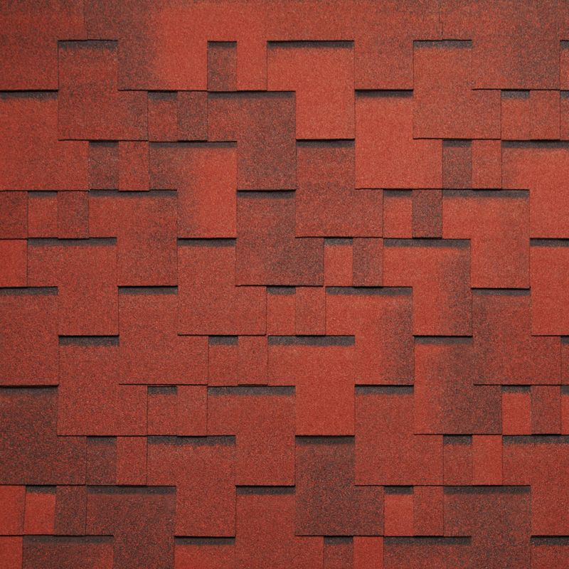 Черепица гибкая Tegola Nordland Альпин Красный с отливомЧерепица гибкая Tegola Nordland Альпин Красный с отливом<br><br>Гибкая полимерная черепица красного цвета прямоугольной Г-образной формы для создания качественной и прочной кровли.<br><br>НАЗНАЧЕНИЕ:<br><br>Используется для кровельных работ на скатной крыше с углом наклона от 60 до 900.<br><br>ПРЕИМУЩЕСТВА:<br><br>Полезная площадь одной упаковки &amp;ndash; 3,45 м2;<br><br>Долговечность (в состав входит особо прочное стекловолокно; устойчивость черепицы к солнечным лучам; сохранение цвета на протяжении всего срока службы; водонепроницаемость &amp;ndash; за счет базальтового слоя, не поддается старению и гниению; стойкость к образованию вздутий; сохранение функциональных и технических характеристик на протяжении 35 лет);<br><br>Безопасность (состоит из природных экологически чистых материалов);<br><br>Удобство в использовании (легкий монтаж &amp;ndash; клеящаяся битумная полоса; диапазон температуры эксплуатации от -700С до +1400С; прямоугольной Г-образной формы &amp;ndash; дает возможность применения для крыш разной геометрии; пленка для предотвращения склеивания гонтов между собой при транспортировке).<br><br>РЕКОМЕНДАЦИИ:<br><br>Монтажные работы рекомендуется проводить в условиях теплой и сухой погоды, чтобы получить надлежащий уровень адгезии черепицы и подложки;<br><br>Монтаж мягкой кровли осуществляется при помощи специального клея и гвоздей для кровли;<br><br>Перед началом работ необходимо распланировать места размещения шахты вентиляций, чтобы оградить черепицу от чрезмерной влажности;<br><br>Перед укладкой гибкой черепицы, необходимо произвести укладку подложки, для повышения эксплуатационных характеристик теплоизоляционного и кровельного материала;<br><br>Непосредственно при монтаже кровли, необходимо снять защитную пленку, и поместить плитку, согласно рисунку или проекту;<br><br>Резку черепицы осуществляйте ножом с крючкообразным лезвием;<br><br>При проведении работ при температуре ниже +100С, необход