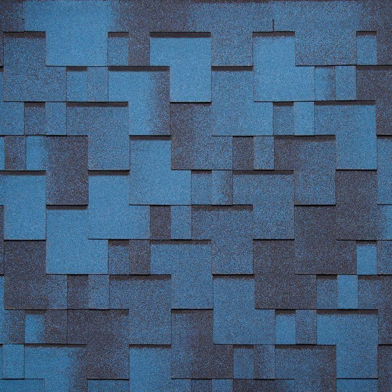Черепица гибкая Tegola Nordland Альпин Синий с отливомЧерепица гибкая Tegola Nordland Альпин Синий с отливом<br><br>Гибкая полимерная черепица синего цвета прямоугольной Г-образной формы для создания качественной и прочной кровли.<br><br>НАЗНАЧЕНИЕ:<br><br>Используется для кровельных работ на скатной крыше с углом наклона от 60 до 900.<br><br>ПРЕИМУЩЕСТВА:<br><br>Полезная площадь одной упаковки &amp;ndash; 3,45 м2;<br><br>Долговечность (в состав входит особо прочное стекловолокно; устойчивость черепицы к солнечным лучам; сохранение цвета на протяжении всего срока службы; водонепроницаемость &amp;ndash; за счет базальтового слоя, не поддается старению и гниению; стойкость к образованию вздутий; сохранение функциональных и технических характеристик на протяжении 35 лет);<br><br>Безопасность (состоит из природных экологически чистых материалов);<br><br>Удобство в использовании (легкий монтаж &amp;ndash; клеящаяся битумная полоса; диапазон температуры эксплуатации от -700С до +1400С; прямоугольной Г-образной формы &amp;ndash; дает возможность применения для крыш разной геометрии; пленка для предотвращения склеивания гонтов между собой при транспортировке).<br><br>РЕКОМЕНДАЦИИ:<br><br>Монтажные работы рекомендуется проводить в условиях теплой и сухой погоды, чтобы получить надлежащий уровень адгезии черепицы и подложки;<br><br>Монтаж мягкой кровли осуществляется при помощи специального клея и гвоздей для кровли;<br><br>Перед началом работ необходимо распланировать места размещения шахты вентиляций, чтобы оградить черепицу от чрезмерной влажности;<br><br>Перед укладкой гибкой черепицы, необходимо произвести укладку подложки, для повышения эксплуатационных характеристик теплоизоляционного и кровельного материала;<br><br>Непосредственно при монтаже кровли, необходимо снять защитную пленку, и поместить плитку, согласно рисунку или проекту;<br><br>Резку черепицы осуществляйте ножом с крючкообразным лезвием;<br><br>При проведении работ при температуре ниже +100С, необходимо пр