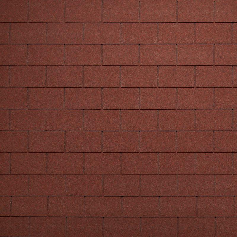 Черепица гибкая Tegola Nordland Классик Красный ИспанияЧерепица гибкая Tegola Nordland Классик Красный Испания<br><br>Гибкая полимерная черепица красного цвета прямоугольной формы (кирпичики) для создания качественной и прочной кровли.<br><br>НАЗНАЧЕНИЕ:<br><br>Используется для кровельных работ на скатной крыше с углом наклона от 60 до 900.<br><br>ПРЕИМУЩЕСТВА:<br><br>Полезная площадь одной упаковки &amp;ndash; 3,5 м2;<br><br>Долговечность (в состав входит особо прочное стекловолокно; устойчивость черепицы к солнечным лучам; сохранение цвета на протяжении всего срока службы; водонепроницаемость &amp;ndash; за счет базальтового слоя, не поддается старению и гниению; стойкость к образованию вздутий; сохранение функциональных и технических характеристик на протяжении 35 лет);<br><br>Безопасность (состоит из природных экологически чистых материалов);<br><br>Удобство в использовании (легкий монтаж &amp;ndash; клеящаяся битумная полоса, минимизация отходов при монтаже &amp;ndash; принимает любую форму; диапазон температуры эксплуатации от -700С до +1400С; прямоугольная форма черепицы &amp;ndash; дает возможность применения для крыш со сложной геометрией; пленка для предотвращения склеивания гонтов между собой при транспортировке).<br><br>РЕКОМЕНДАЦИИ:<br><br>Монтажные работы рекомендуется проводить в условиях теплой и сухой погоды, чтобы получить надлежащий уровень адгезии черепицы и подложки;<br><br>Монтаж мягкой кровли осуществляется при помощи специального клея и гвоздей для кровли;<br><br>Перед началом работ необходимо распланировать места размещения шахты вентиляций, чтобы оградить черепицу от чрезмерной влажности;<br><br>Перед укладкой гибкой черепицы, необходимо произвести укладку подложки, для повышения эксплуатационных характеристик теплоизоляционного и кровельного материала;<br><br>Непосредственно при монтаже кровли, необходимо снять защитную пленку, и поместить плитку, согласно рисунку или проекту;<br><br>Резку черепицы осуществляйте ножом с крючкообразным лезв