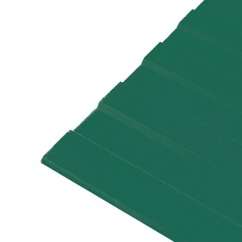 Профнастил С-8 1200x2000 (ПЭ-6005-0, 45 мм) зеленый мох, Зеленый мох  - Купить