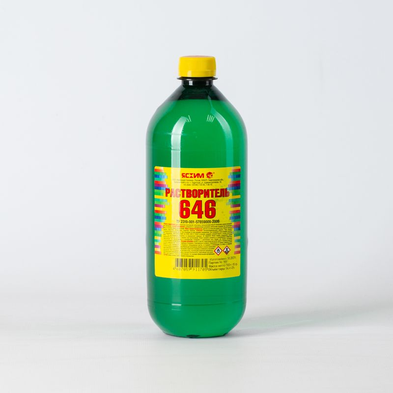 Растворитель 646, 1л (ТУ)