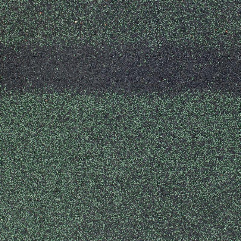 Черепица коньково-карнизная ТехноНиколь SHINGLAS НефритКоньково-карнизная черепица Шинглас, (Нефрит) зеленый 1000х250мм 5м2<br><br>Комплектующий элемент для монтажа гибкой черепицы Шинглас в виде листов прямоугольной формы, в основе которых<br><br>лежит стеклохолст и битум с нанесенной снаружи крупнозернистой базальтовой посыпкой.<br><br>НАЗНАЧЕНИЕ:<br><br>Выступает первой полосой при монтаже гибкой черепицы;<br>Эстетическое оформление конструктивных элементов (карнизов, ребер, хребтов, коньков) мягкой кровли;<br>Защита от атмосферных осадков.<br><br>ПРЕИМУЩЕСТВА:<br><br>Устойчива к агрессивной среде;<br>Повышенные гидроизоляционные свойства;<br>Простой монтаж и эксплуатация.<br><br>РЕКОМЕНДАЦИИ:<br><br>При монтаже карниза листы используются целиком, при устройстве коньков и ребер &amp;ndash; лист делится на три сегмента;<br>При разрезании листов непосредственно на крыше необходимо использовать подкладочный материал (фанера, доска и т.п.) во избежание порчи элементов кровли;<br>При температуре окружающей среды ниже +5 градусов черепицу для монтажа следует подавать из теплого помещения<br><br>и подогревать строительным феном самоклеящуюся полосу;<br>Во время хранения избегать попадания прямых солнечных лучей на упаковки, чтобы предотвратить склеивание листов.<br><br>МЕРЫ ПРЕДОСТОРОЖНОСТИ:<br><br>При работе использовать защитную одежду, руки защищать перчатками.<br>Коллекция: Кадриль; Цвет производителя: Нефрит; Полезная площадь упаковки: 5 м?; Рабочая длина карнизного свеса: 20 п.м.; Рабочая длина конька: 12 п.м.; Размер одного гонта: 1000x317 мм; Толщина: 3 мм; Вес упаковки: 25,2 кг; Количество гонтов в упаковке: 22 шт; Размер упаковки: 320х1003х77 мм; Бренд: Shinglas; Производитель: Технониколь; Цвет: Зеленый;