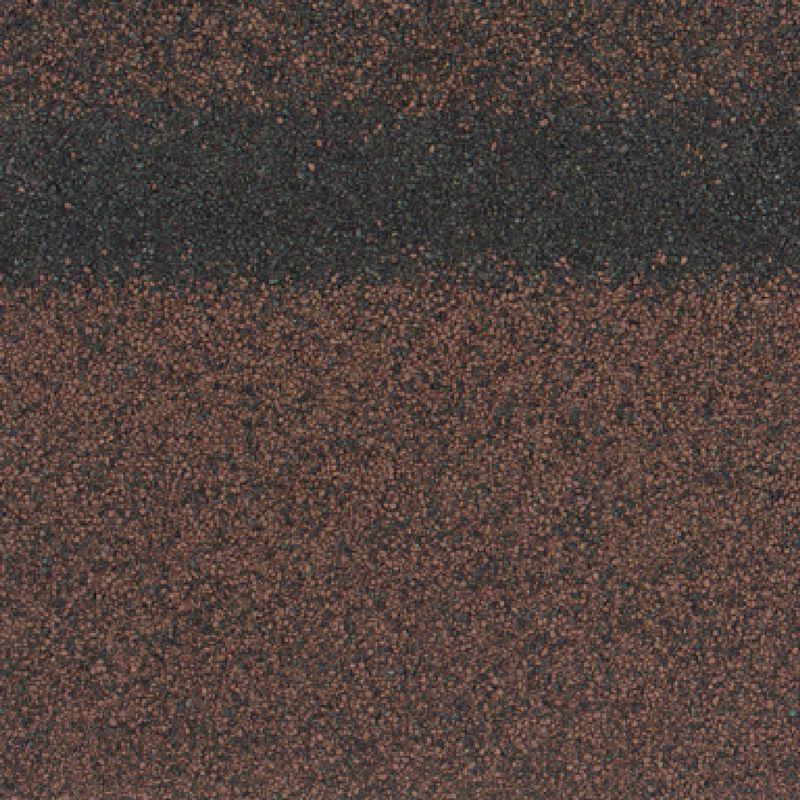 Черепица коньково-карнизная ТехноНиколь SHINGLAS АгатКоньково-карнизная черепица Шинглас, (Агат) коричневый 1000х250мм 5м2<br><br>Комплектующий элемент для монтажа гибкой черепицы Шинглас в виде листов прямоугольной формы, в основе которых<br><br>лежит стеклохолст и битум с нанесенной снаружи крупнозернистой базальтовой посыпкой.<br><br>НАЗНАЧЕНИЕ:<br><br>Выступает первой полосой при монтаже гибкой черепицы;<br><br>Эстетическое оформление конструктивных элементов (карнизов, ребер, хребтов, коньков) мягкой кровли;<br><br>Защита от атмосферных осадков.<br><br>ПРЕИМУЩЕСТВА:&amp;nbsp;<br><br>Устойчива к агрессивной среде;<br><br>Повышенные гидроизоляционные свойства;<br><br>Простой монтаж и эксплуатация.<br><br>РЕКОМЕНДАЦИИ:<br><br>При монтаже карниза листы используются целиком, при устройстве коньков и ребер &amp;ndash; лист делится на три сегмента;<br><br>При разрезании листов непосредственно на крыше необходимо использовать подкладочный материал (фанера, доска и т.п.)<br><br>во избежание порчи элементов кровли;<br><br>При температуре окружающей среды ниже +5 градусов черепицу для монтажа следует подавать из теплого помещения<br><br>и подогревать строительным феном самоклеящуюся полосу;<br><br>Во время хранения избегать попадания прямых солнечных лучей на упаковки, чтобы предотвратить склеивание листов.<br><br>МЕРЫ ПРЕДОСТОРОЖНОСТИ:<br><br>При работе использовать защитную одежду, руки защищать перчатками.<br>Коллекция: Кадриль; Цвет производителя: Агат; Полезная площадь упаковки: 5 м?; Рабочая длина карнизного свеса: 20 п.м.; Рабочая длина конька: 12 п.м.; Размер одного гонта: 1000х250 мм; Толщина: 3 мм; Вес упаковки: 25,2 кг; Количество гонтов в упаковке: 22 шт; Размер упаковки: 320х1003х77 мм; Бренд: Shinglas; Производитель: Технониколь; Цвет: Коричневый;
