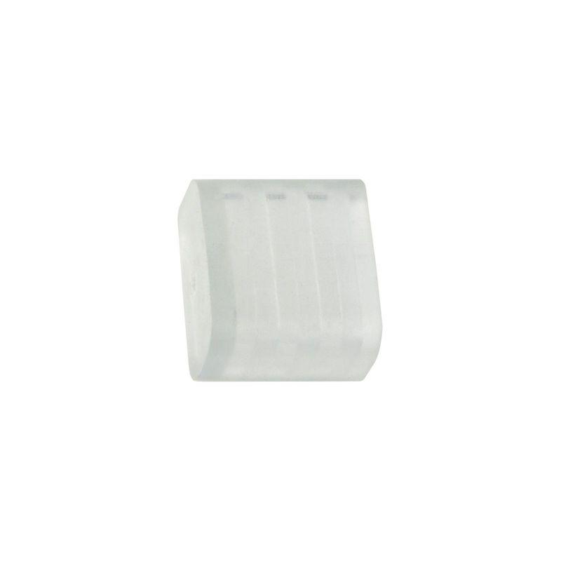 Изолирующий зажим (заглушка) Uniel UCW-K10 CLEAR 5 POLYBAG для светодиодной ленты 3528. 10 мм<br>Бренд: Uniel;