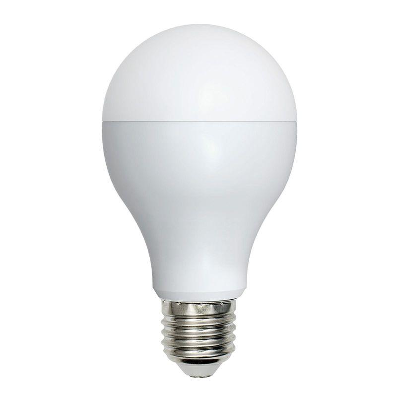Лампа светодиодная Volpe LED-A65-18W/NW/E27/FR/O Форма A, матовая Серия Optima Белый свет<br>Бренд: Uniel;