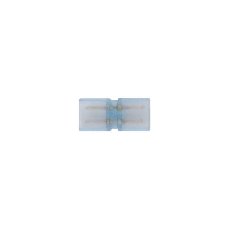 Соединитель контактный прямой Uniel UTC-K-12/A67-NNN CLEAR 5 POLYBAG для светодиодных лент 220В 3528. 2 контакта<br>Бренд: Uniel;