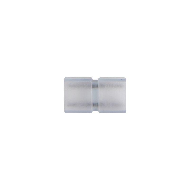 Соединитель контактный прямой Uniel UTC-K-12/B67-NNN CLEAR 5 POLYBAG для светодиодных лент 220В 5050. 2 контакта<br>Бренд: Uniel;