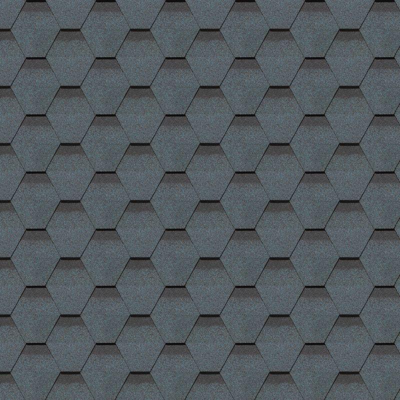 Черепица гибкая Docke PIE GOLD Кёльн Чернослив<br>Цвет: Синий; Коллекция: Pie gold кельн; Вид нарезки: Шестигранник-сота; Цвет производителя: Чернослив; Полезная площадь упаковки: 3 м?; Основа: Стеклохолст; Тип посыпки: Базальт; Размер одного гонта: 1000х318 мм; Толщина: 3 мм; Вес упаковки: 23,5 кг; Количество слоев черепицы: Однослойная; Количество гонтов в упаковке: 22 шт; Вес 1 м? готового покрытия: 7,8 кг; Бренд: Docke; Производитель: Docke; Гарантия: 50 лет;