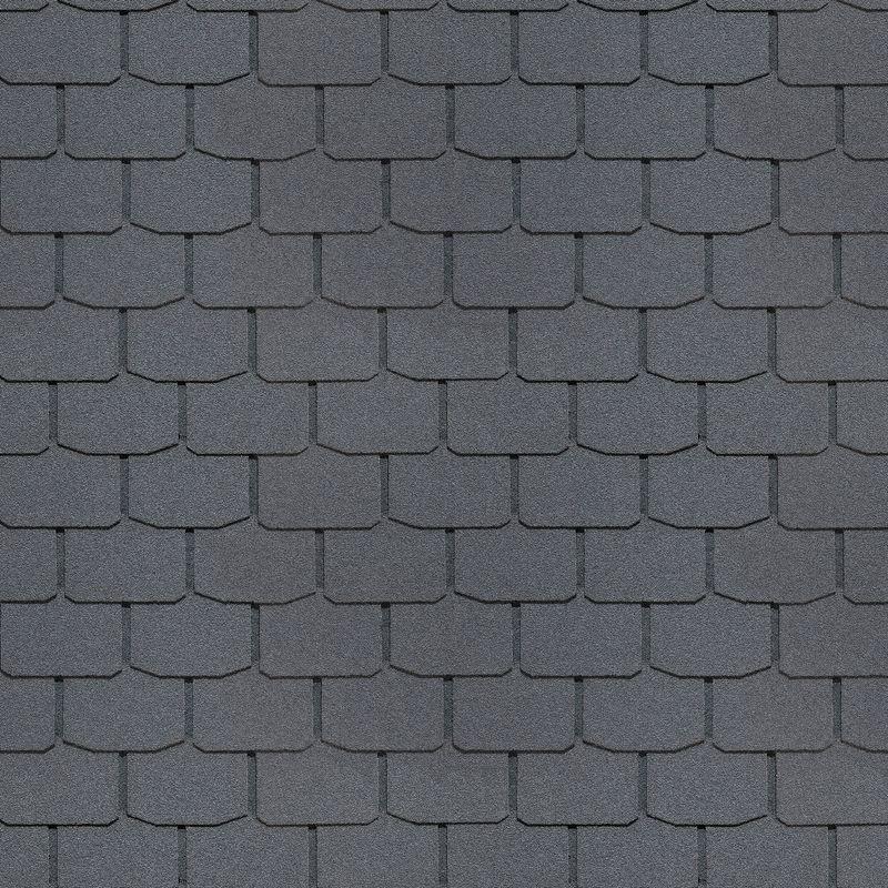 Черепица гибкая Docke PIE SIMPLE Крона СерыйЧерепица гибкая Docke Pie Simple Крона серый<br><br>Гибкая черепица Docke Pie&amp;nbsp;коллекция Simple Крона - кровельный материал на основе каменной посыпки и битума для скатных крыш с углом наклона 6&amp;deg;. Цвет: Серый<br><br>НАЗНАЧЕНИЕ:<br><br>Однослойный укрывной кровельный материал для крыш частных домов, коттеджей, зданий и промышленных сооружений.<br><br>ПРЕИМУЩЕСТВА:<br><br>Гибкость материала (применение материала для любых форм крыш (скатная, многоуровневая, купола, луковичная форма), с углом наклона в 6&amp;deg;);<br><br>Прочность (в основе стеклохолст и окисленный оксидированный битум с полимерными добавками, &amp;nbsp;толщина пластины серии SIMPLE &amp;ndash; 2,7 мм, двойная технология по склеиванию каждой детали (гонта));<br><br>Долговечность (не требует ухода после установки, старение или деформация гибкой черепицы по отдельному гонту &amp;ndash; легко заменить каждый по отдельности, производитель дает гарантию 20 лет, устойчив к морозу, низким и высоким температурам, УФ лучам);<br><br>Водонепроницаемость (отсутствие коррозии и гниения, абсолютная гидроизоляция);<br><br>Звуко- и теплоизоляция (препятствует проникновению звуков дождя, града и шума в дом, сохраняет тепло внутри помещения);<br><br>Дизайн (дизайн &amp;ndash; скошенные края лепестков, 3Д эффект, верхний базальтовый слой не выгорает на солнце, &amp;nbsp;большой выбор различных цветов и форм и их сочетаний);<br><br>Удобство установки (легкий монтаж, самоклеящаяся полоска, минимальное количество отходов);<br><br>Диалектические свойства &amp;nbsp;(не требуется дополнительного громоотвода).<br><br>РЕКОМЕНДАЦИИ:<br><br>Общие рекомендации:<br><br>Проводить монтаж черепицы только при положительных температурах. При температуре +5&amp;deg;С &amp;ndash; хранение пачек в тепле и транспортировка их для монтажа из помещения; &amp;nbsp;<br><br>При температуре воздуха -10&amp;deg;С самоклеящаяся полоска разогревается феном;<br><br>При уклоне крыши более 45&a