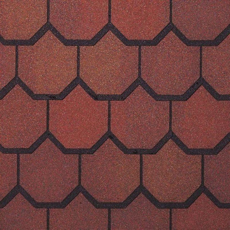Черепица гибкая CertainTeed Carriage House Georgian BrickЧерепица гибкая CertainTeed Carriage House Georgian Brick<br><br>Мягкая двухслойная кровельная черепица с базальтовым покрытием. Форма бобровый хвост, цвет кирпичный.<br><br>НАЗНАЧЕНИЕ:<br><br>Финишное покрытие кровли;<br><br>Укладка на стеклохолст;<br><br>Монтаж на кровле с конфигурацией любой сложности;<br><br>Шумоизоляция.<br><br>ПРЕИМУЩЕСТВА:<br><br>Гибкая &amp;mdash; устойчива к перекосам кровли;<br><br>Легкая (17, 33 кг/м.кв.) &amp;mdash; удобство транспортировки и монтажа;<br><br>Двухслойная &amp;mdash; состоит из двух полностью ламинированных листов;<br><br>Долговечность &amp;mdash; устойчива к перепадам температур и воздействию ультрафиолета, не трескается и не осыпается, гарантия от производителя;<br><br>Материалы-диэлектрики (битум, базальт) &amp;mdash; защита дома от попадания молнии;<br><br>Гидроизоляция &amp;mdash; при нагреве солнечными лучами гонты размягчаются и склеиваются между собой;<br><br>Базальтовое покрытие, окрашенное методом высокотемпературного обжига &amp;mdash; устойчивость цвета;<br><br>Шумоизоляция &amp;mdash; мягкость материала позволяет гасить шум падающих капель и града;<br><br>Плотное прилегание деталей &amp;mdash; сопротивляемость ветру;<br><br>Экологичные материалы (битум, базальт, укладывается на стеклохолст);<br><br>Хорошо очищается от снега.<br><br>РЕКОМЕНДАЦИИ:<br><br>Общие рекомендации:<br><br>Проводите осмотр кровли каждую весну и осень;<br><br>Передвижение по кровле из мягкой черепицы допустимо только в мягкой обуви.<br><br>Рекомендации по очистке:<br><br>Во время чистки кровли убираются листья, мох и ветви с помощью мягкой щетки;<br><br>В зимний период наледь и снег убирайте деревянной лопатой с тупым краем;<br><br>Во время сброса снега оставляйте слой 5-7см на поверхности крыши.<br>Цвет: Коричневый; Коллекция: Carriage house; Вид нарезки: Бобровый хвост; Цвет производителя: Georgian brick; Полезная площадь упаковки: 1,86 м?; Основа: Стеклохолст; Тип посыпки: Базаль