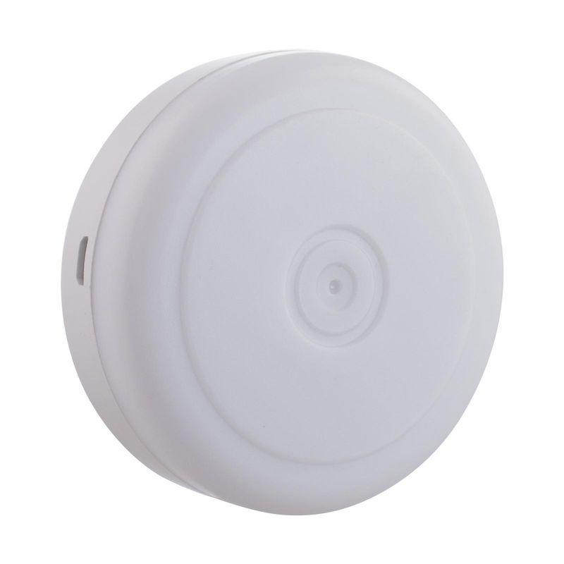 Нажимной светильник СТАРТ PL-5LED-С1В белый Питание от 3 батареек ААА Световой поток: 60 Лм.<br>