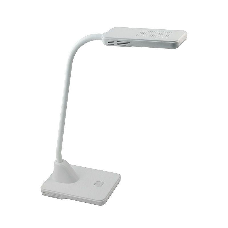настольный светильник на светодиодах старт ct52 белый 220в кнопка включения. мощность светодиодов 5 вт  свечения лампы накали<br>Бренд: Старт;