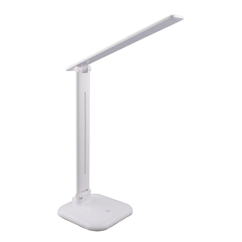 Настольный светильник на светодиодах СТАРТ CT62 белый Световой поток: 500 Лм 220В светодиодов: 30, 6 Вт Сенсорный выключатель, с ди<br>Бренд: Старт;