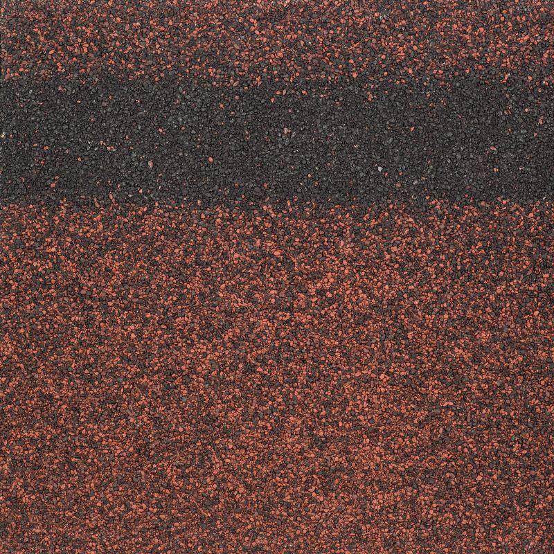 Черепица коньково-карнизная ТехноНиколь SHINGLAS РубинЧерепица коньково-карнизная Shinglas (цвет &amp;ndash; Рубин), ТехноНиколь<br><br>Черепица коньково-карнизная Shinglas (цвет &amp;ndash; Рубин), ТехноНиколь &amp;ndash; дополнительный аксессуар для обустройства скатных кровель из гибкой черепицы.<br><br>НАЗНАЧЕНИЕ:<br><br>Стартовая полоса при укладке рядовых гонтов;<br><br>Эстетичная ондуляция конька и ребер крыши;<br><br>Реконструкция и ремонт старых или поврежденных элементов покрытия (необходима предварительная подготовка).<br><br>ПРЕИМУЩЕСТВА:<br><br>Износоустойчивость и долговечность. Основа коньково-карнизных панелей &amp;ndash; стеклохолст, пропитанный полимезированным модифицированным окисленным битумом, наружный слой покрыт много фракционным базальтовым гранулятом, благодаря этому строительный материал не подвержен ультрафиолетовому излучению, температурным, влажностным влияниям окружающей среды;<br><br>Ударостойкость. Амортизирующая оксибитумная пропитка исключает деформацию и рассечение наружного слоя градом, упавшими ветками;<br><br>Устойчивость к образованию плесени и грибка;<br><br>Не подвержена коррозийным отложениям и ржавчине;<br><br>Низкая электропроводность. Оксибитум является диэлектриком, поэтому на его поверхности не накапливается статическое напряжение и, как следствие, нет необходимости заземлять основание кровли от попадания молний;<br><br>Надежность. Коньково-карнизные элементы крепятся на каркас, а затем перекрываются листами гибкой черепицы, в результате чего образуется цельное и сплошное покрытие, при котором исключается возможность отсоединения от сильных порывов ветра, снеговых и дождевых нагрузок;<br><br>Универсальность. Стартовые панели устанавливают под все виды, формы нарезки (&amp;laquo;соната&amp;raquo;, &amp;laquo;аккорд&amp;raquo;, &amp;laquo;трио&amp;raquo;, &amp;laquo;брикс&amp;raquo;);<br><br>Быстрота и удобство монтажа. Коньковые, карнизные детали наклеиваются на металлические карнизные планки (на тыльную сторону нанесен