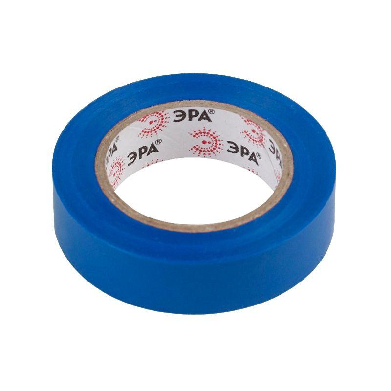 ПВХ-изолента 15мм*10м синяя ЭРА<br>Бренд: Эра; Длина: 10 м; Количество в упаковке: 10 шт; Цвет: Синяя; Ширина: 15 мм; Материал: ПВХ; Адгезия (липкость): 45 сек; Прочность при растяжении: 15 МПа; Электрическая прочность (напряжение пробоя): не менее 6 kV; Удлинение при разрыве: 190 %; Диапазон рабочих температур: От -50°С до +70°С; Класс горючести: НГ;