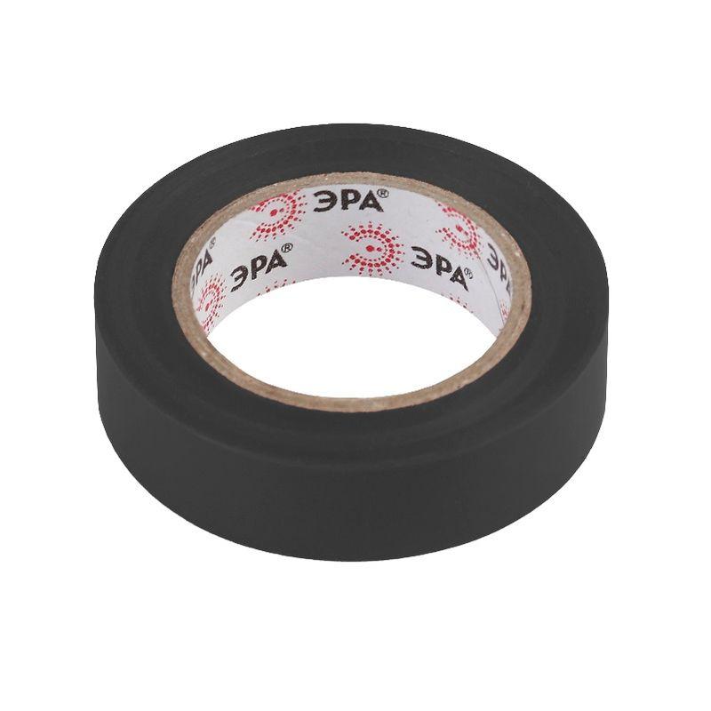 ПВХ-изолента 15мм*10м черная ЭРА<br>Бренд: Эра; Длина: 10 м; Количество в упаковке: 10 шт; Цвет: Черная; Ширина: 15 мм; Материал: ПВХ; Адгезия (липкость): 45 сек; Прочность при растяжении: 15 МПа; Электрическая прочность (напряжение пробоя): не менее 6 kV; Удлинение при разрыве: 190 %; Диапазон рабочих температур: От -50°С до +70°С; Класс горючести: НГ;