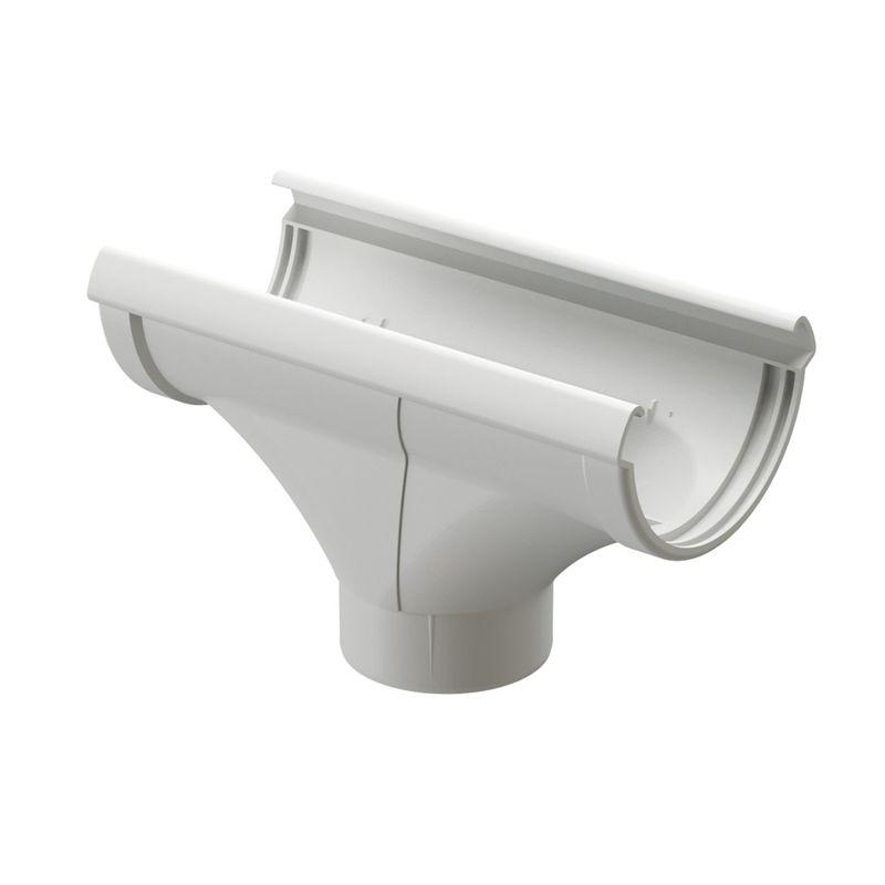 Воронка водосточная Docke Lux Пломбир<br>Бренд: Docke; Коллекция: Lux; Вид: Водосборная; Диаметр трубы: 100 мм; Диаметр желоба: 140 мм; Материал: Пластик; Сечение: Круглое; Цвет: Белый; Цвет производителя: Пломбир; Область применения: Для пвх водосточки; Страна производитель: Россия; Вес: 0,5 кг;
