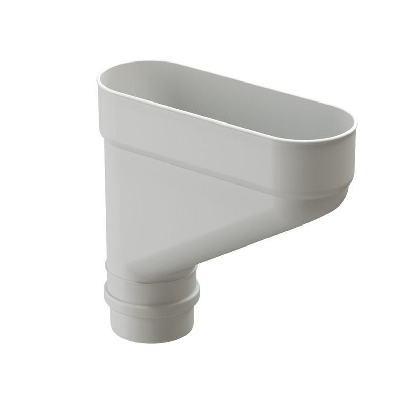 Коллектор водосточный Docke Lux Пломбир<br>Бренд: Docke; Коллекция: Lux; Диаметр трубы: 100 мм; Материал: Пластик; Сечение: Круглое; Цвет: Белый; Цвет производителя: Пломбир; Область применения: Для пвх водосточки; Страна производитель: Россия; Вес: 0,7 кг;