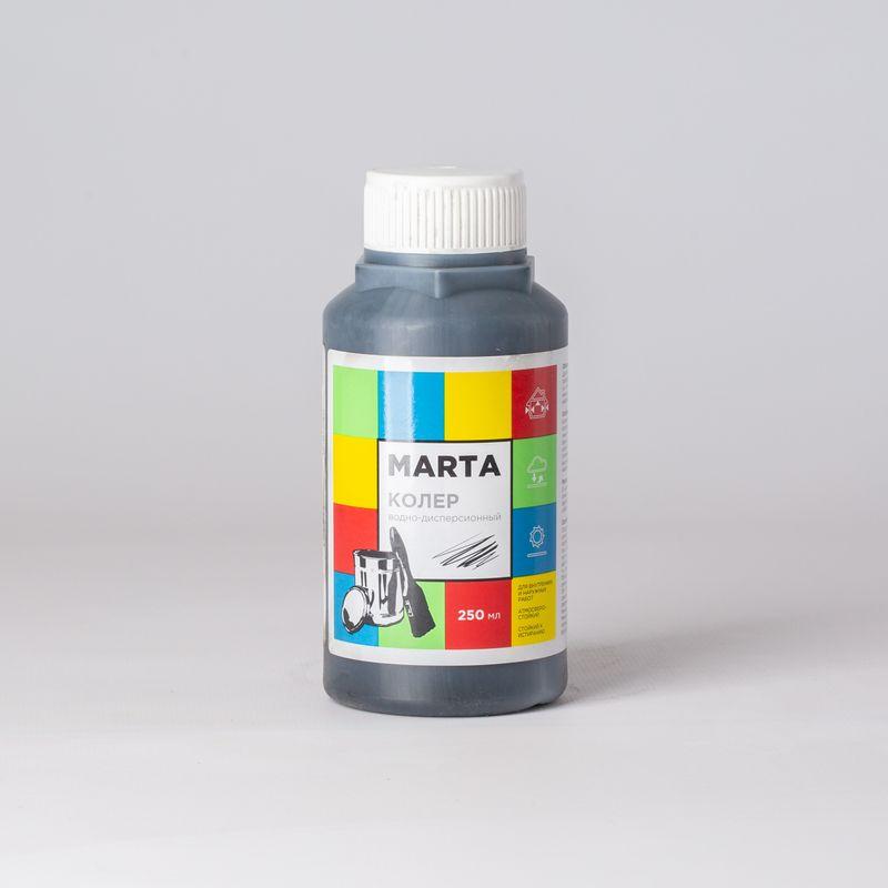 Колер MARTA в/д черный, 250мл
