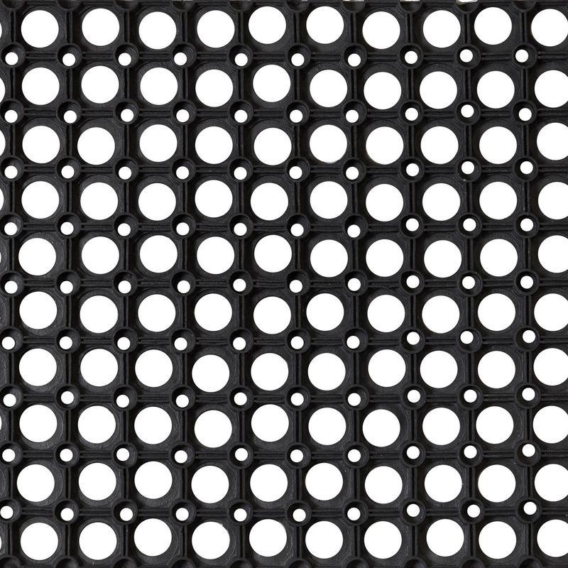 Коврик резиновый Ринго-матт 100х150 см, 16 мм, черный