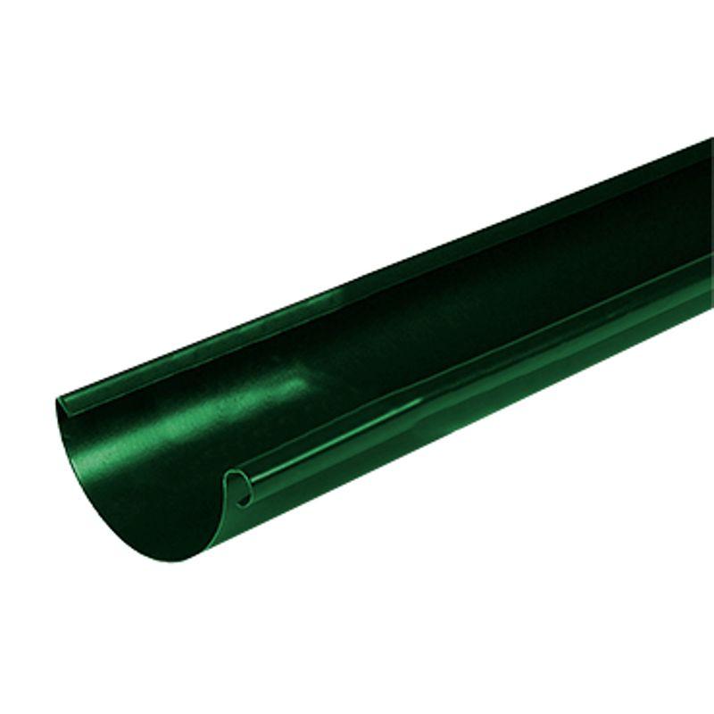 Желоб водосточный Металлпрофиль Престиж 3м D125 RAL 6005<br>Бренд: Металлпрофиль; Коллекция: Престиж; Диаметр желоба: 125 мм; Материал: Сталь; Длина: 3000 мм; Покрытие: Пластизол; Сечение: Круглое; Цвет: Зеленый; Цвет производителя: Зеленый; Область применения: Для металлической водосточки; Страна производитель: Россия; Вес: 3 кг;