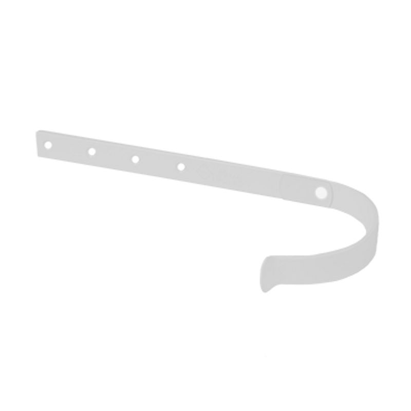 Кронштейн желоба Металлпрофиль Престиж D125 RAL 9010<br>Бренд: Металлпрофиль; Коллекция: Престиж; Диаметр трубы: 100 мм; Диаметр желоба: 125 мм; Материал: Сталь; Толщина: 4 мм; Сечение: Круглое; Покрытие: Пластизол; Цвет: Белый; Цвет производителя: Белый; Область применения: Для металлической водосточки; Страна производитель: Россия;