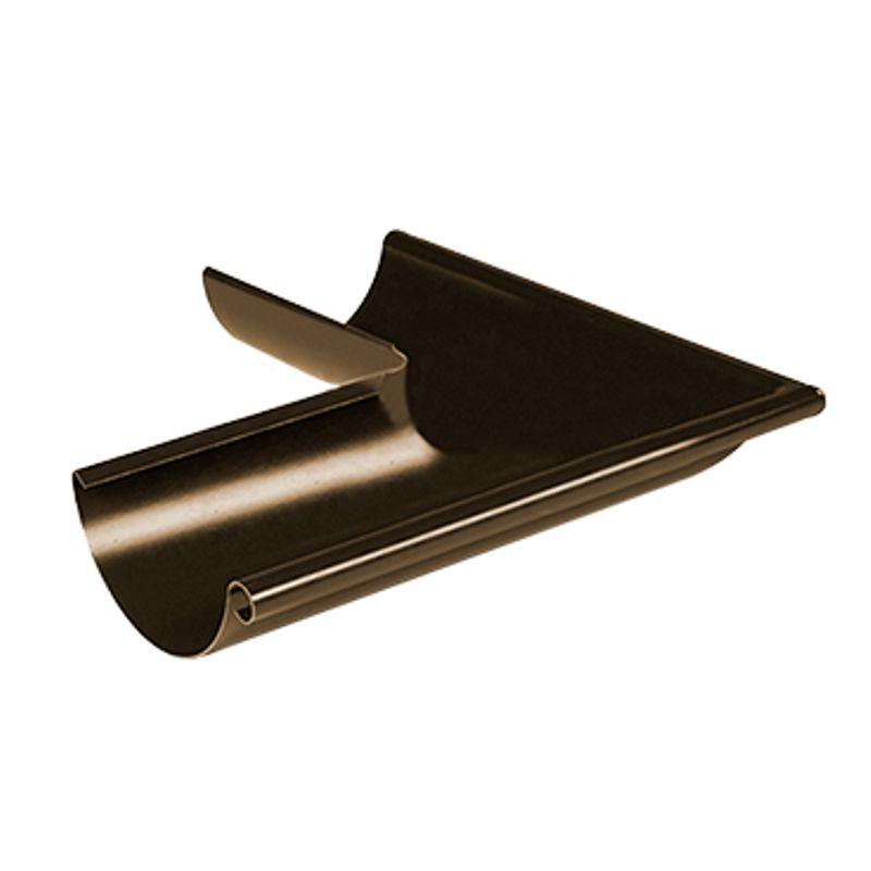 Угол желоба наружный 90° Металлпрофиль Престиж D150 RR32<br>Бренд: Металлпрофиль; Коллекция: Престиж; Диаметр трубы: 100 мм; Диаметр желоба: 150 мм; Угол изгиба: 90 °; Материал: Сталь; Толщина: 0,5 мм; Покрытие: Пластизол; Сечение: Круглое; Цвет: Красный; Цвет производителя: Вишневый; Область применения: Для металлической водосточки; Страна производитель: Россия; Вес: 0,69 кг;
