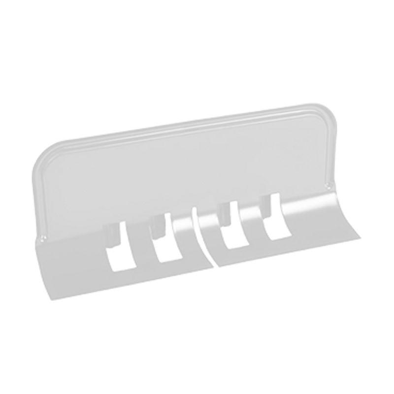 Ограничитель перелива универсальный Металлпрофиль Престиж RAL 9010<br>Бренд: Металлпрофиль; Коллекция: Престиж; Материал: Сталь; Толщина: 0,5 мм; Покрытие: Пластизол; Цвет: Белый; Цвет производителя: Белый; Область применения: Для металлической водосточки; Страна производитель: Россия; Вес: 0,318 кг;