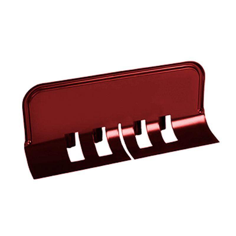Ограничитель перелива универсальный Металлпрофиль Престиж P363<br>Бренд: Металлпрофиль; Коллекция: Престиж; Материал: Сталь; Толщина: 0,5 мм; Покрытие: Пластизол; Цвет: Красный; Цвет производителя: Вишневый; Область применения: Для металлической водосточки; Страна производитель: Россия; Вес: 0,318 кг;