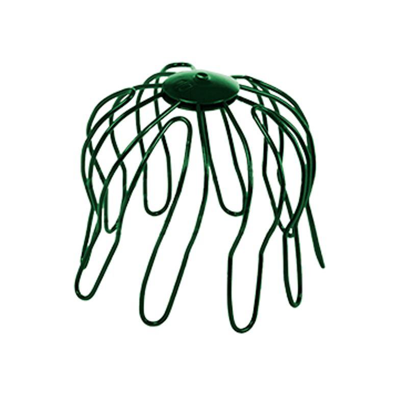 Сетка защитная водосточная Металлпрофиль Престиж D100 RAL 6005<br>Бренд: Металлпрофиль; Коллекция: Престиж; Диаметр трубы: 100 мм; Материал: Сталь; Высота: 100 мм; Покрытие: Пластизол; Сечение: Круглое; Цвет производителя: Зеленый; Цвет: Зеленый; Область применения: Для металлической водосточки; Страна производитель: Россия;