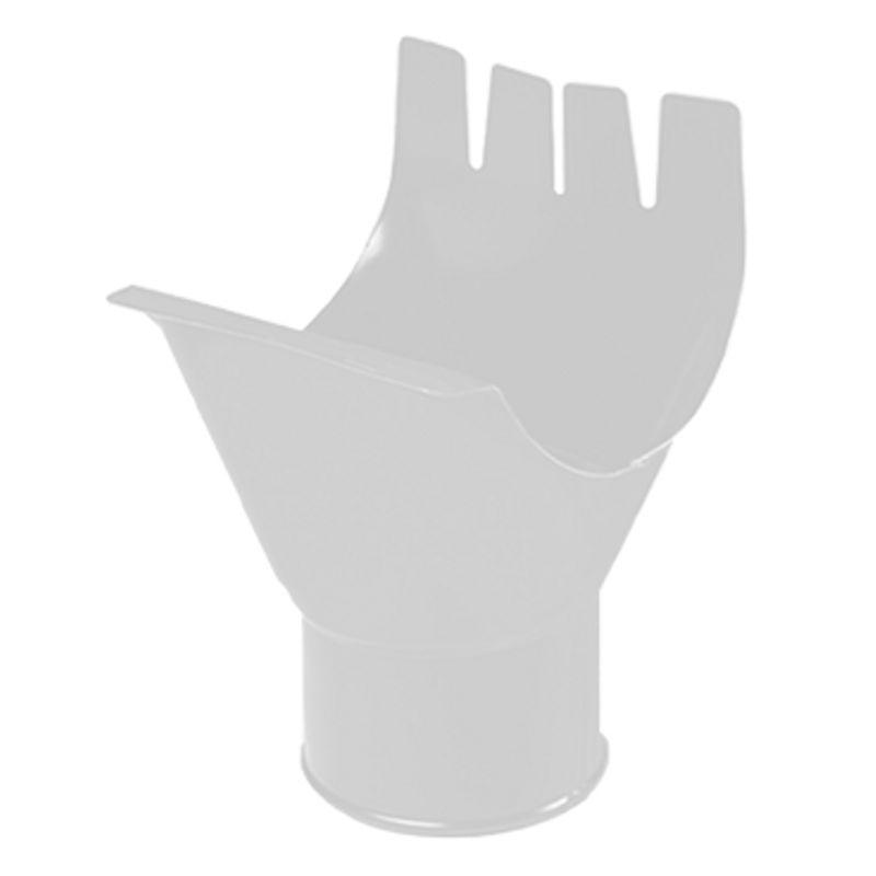 Воронка выпускная водосточная Металлпрофиль Престиж D150 RAL 9010<br>Бренд: Металлпрофиль; Коллекция: Престиж; Вид: Выпускная; Диаметр трубы: 100 мм; Диаметр желоба: 150 мм; Материал: Сталь; Толщина: 0,5 мм; Покрытие: Пластизол; Сечение: Круглое; Цвет: Белый; Цвет производителя: Белый; Область применения: Для металлической водосточки; Страна производитель: Россия; Вес: 0,3 кг;