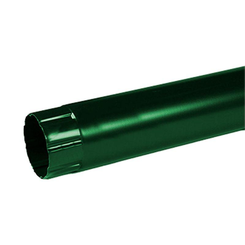 Труба водосточная Металлпрофиль Престиж 3м D100 RAL 6005<br>Бренд: Металлпрофиль; Коллекция: Престиж; Диаметр трубы: 100 мм; Материал: Сталь; Длина: 3000 мм; Толщина: 0,5 мм; Покрытие: Пластизол; Сечение: Круглое; Цвет: Зеленый; Цвет производителя: Зеленый; Область применения: Для металлической водосточки; Страна производитель: Россия; Вес: 4,2 кг;