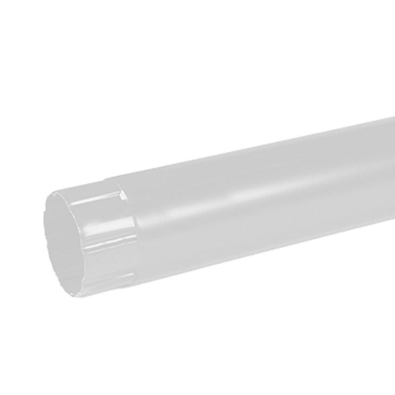 Труба водосточная Металлпрофиль Престиж 2м D100 RAL 9010<br>Бренд: Металлпрофиль; Коллекция: Престиж; Диаметр трубы: 100 мм; Материал: Сталь; Длина: 2000 мм; Толщина: 0,5 мм; Покрытие: Пластизол; Сечение: Круглое; Цвет: Белый; Цвет производителя: Белый; Область применения: Для металлической водосточки; Страна производитель: Россия; Вес: 2,8 кг;