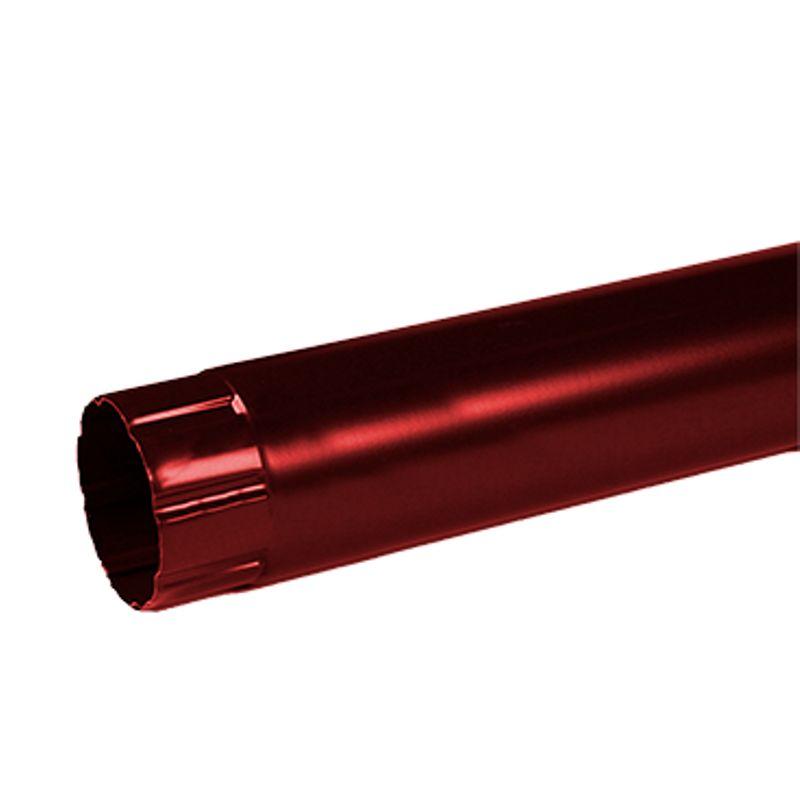 Труба соединительная Металлпрофиль Престиж 1 м D100 P363<br>Бренд: Металлпрофиль; Коллекция: Престиж; Диаметр трубы: 100 мм; Материал: Сталь; Длина: 1000 мм; Толщина: 0,5 мм; Покрытие: Пластизол; Сечение: Круглое; Цвет: Красный; Цвет производителя: Вишневый; Область применения: Для металлической водосточки; Страна производитель: Россия; Вес: 1,4 кг;