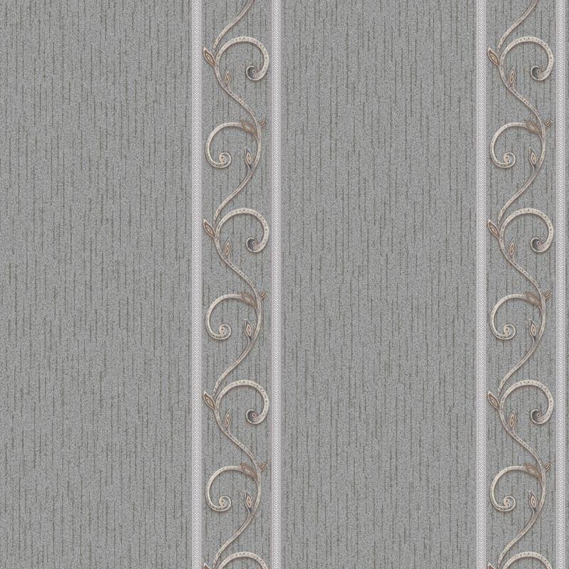 Обои виниловые на флизелиновой основе Erismann Bellagio 4379-7<br>Бренд: Erismann; Страна производитель: Россия; Коллекция: Bellagio; Артикул: 4379-7; Длина рулона: 10,05 м; Ширина рулона: 1,06 м; Площадь рулона: 10,65 м?; Тип обоев: Виниловые на флизелиновой основе; Материал поверхности: Винил горячего тиснения; Материал основы: Флизелин; Цвет производителя: Серый; Тип рисунка: Полосы; Фактура: Рельефная; Стиль: Классика; Подгонка рисунка: Свободная стыковка; Окрашивание: Не красят; Нанесение клея: На стену; Особые свойства: Долговечность; Особые свойства: Водостойкость; Особые свойства: Устойчивость к выгоранию; Тип помещения: Прихожая и коридор; Тип помещения: Гостиная; Тип помещения: Спальня; Вес рулона: 3.25 кг; Количество рул/кор: 6 шт; Цветовая гамма: Серый; Дизайн: Геометрия; Дизайн: Вензеля и узоры;
