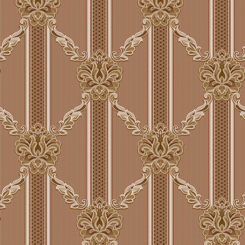 Обои виниловые на бумажной основе Erismann Maestro 1965-4<br>Бренд: Erismann; Страна производитель: Россия; Коллекция: Maestro; Артикул: 1965-4; Длина рулона: 10,05 м; Ширина рулона: 0,53 м; Площадь рулона: 5.33 м?; Тип обоев: Виниловые на бумажной основе; Материал поверхности: Вспененный винил; Материал основы: Бумага; Цвет производителя: Коричневый; Тип рисунка: Орнамент; Фактура: Рельефная; Стиль: Модерн; Подгонка рисунка: Прямая стыковка; Повтор рисунка: 32 см; Окрашивание: Не красят; Нанесение клея: На обои; Особые свойства: Устойчивость к выгоранию; Особые свойства: Долговечность; Особые свойства: Водостойкость; Тип помещения: Прихожая и коридор; Тип помещения: Гостиная; Тип помещения: Спальня; Вес рулона: 1.95 кг; Количество рул/кор: 9 шт; Цветовая гамма: Коричневый; Дизайн: Вензеля и узоры; Дизайн: Геометрия;