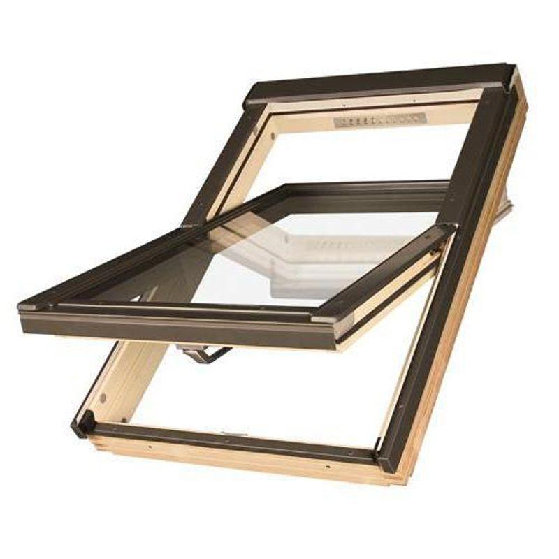 Окно мансардное Fakro FTP-V U4 PROFI 780х1400 мм ручка снизу<br>Бренд: Fakro; Коллекция: FTP-V U4 PROFI; Тип окна: Мансардное; Размер: 780Х1400 мм; Количество камер: Однокамерное; Форма: Прямоугольная; Расположение оси: По центру; Материал: Дерево; Расположение рукоятки: Снизу; Особые свойства: Лакированное; Особые свойства: Закаленное стекло; Особые свойства: Вентиляционный клапан; Цвет: Коричневый; Страна производитель: ПОЛЬША;