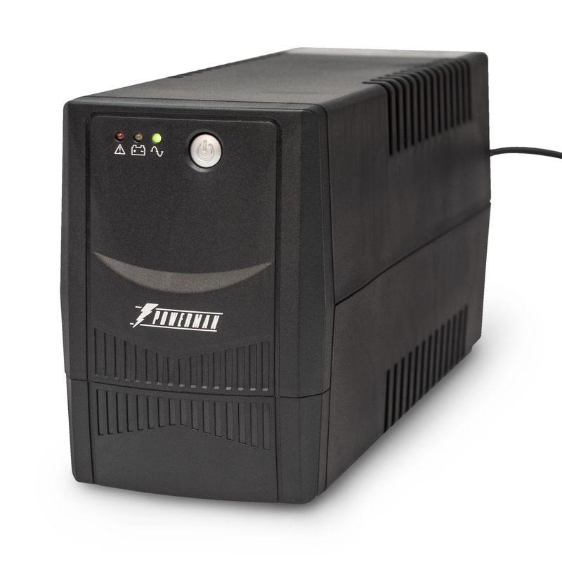 ИБП POWERMAN Back Pro 800<br>Бренд: POWERMEN; Модель: Back Pro 800; Мощность: 800 ВА / 480 Вт; Время автономной работы от батарей: 3-25 мин; Встроенные батареи: 12 В 9 Ач, 1 шт; Диапозон напряжений: 220В +/- 25%; Диапозон входных частот: 50Гц +/- 10%; Время перехода на батареи: 2-4 мс; Среднее время подзарядки: 6-8 часов до 90% полной емкос; Габариты: 298х101х142 мм; Уровень шума: Менее 40дб; Гарантия: 2 года; Страна производитель: Китай;