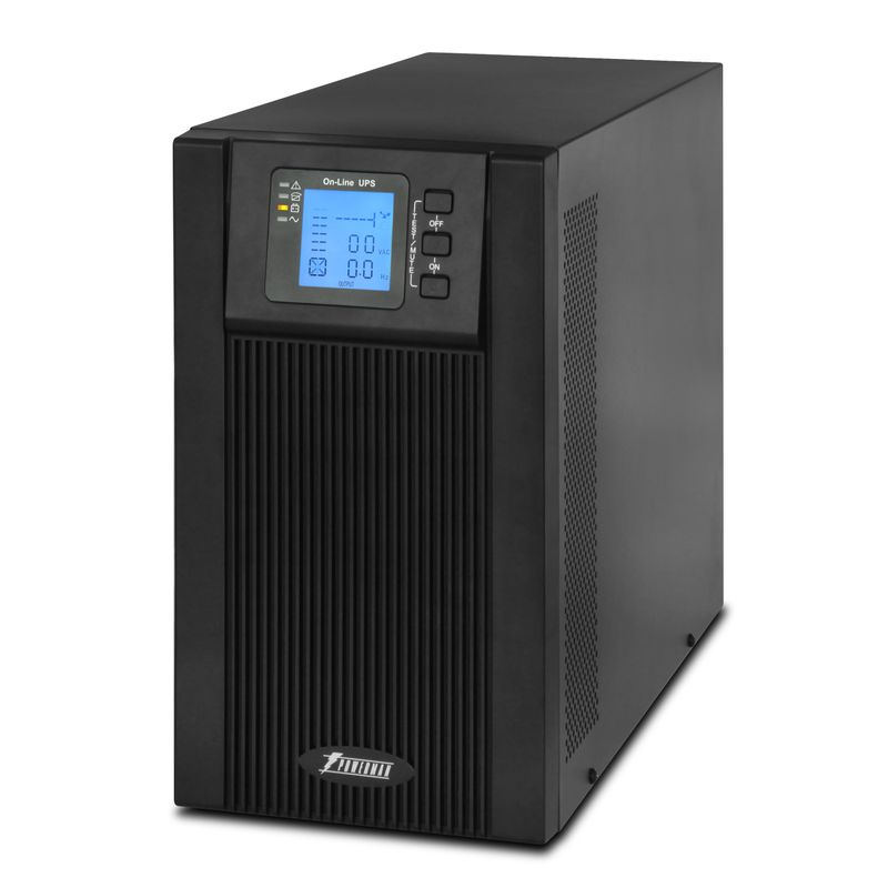 ИБП POWERMAN Online 3000 Plus<br>Бренд: POWERMEN; Модель: Online 3000 Plus; Мощность: 3000ВА/2400Вт; Время автономной работы от батарей: 3-25 мин; Встроенные батареи: Внешний блок свинцово-кислотных батарей напряжением 72В (6 шт. х 12В); Диапозон напряжений: От 115±5 до 295±5 В переменного напряжения; Диапозон входных частот: 45 Гц-55 Гц для 50 Гц/ 55 Гц-65 Гц для 60 Гц; Время перехода на батареи: 0 мс; Среднее время подзарядки: 6-8 часов до 90% полной емкос; Габариты: 191х469х339 мм; Уровень шума: Менее 40дб; Гарантия: 2 года; Страна производитель: Китай;