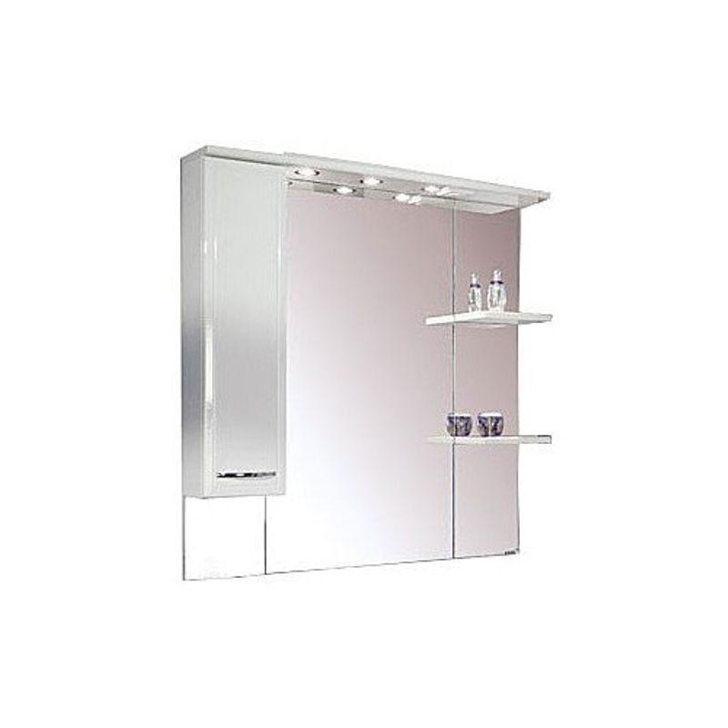 Купить Зеркальный шкаф Акватон Эмили 105 левый (1A008602EM01L), Россия
