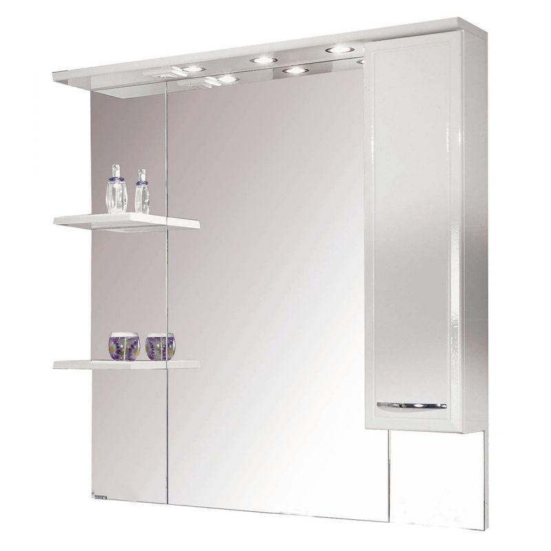 Купить Зеркальный шкаф Акватон Эмили 105 правый (1A008602EM01R), Россия