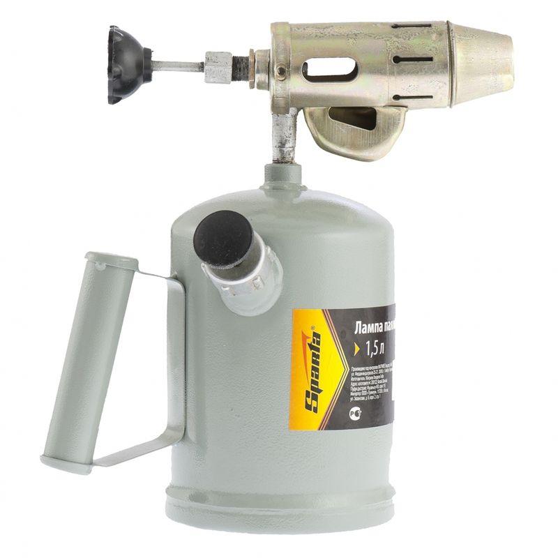 Лампа паяльная бензиновая 1,5лБензиновая&amp;nbsp;паяльная&amp;nbsp;лампа&amp;nbsp;11037&amp;nbsp;<br><br>Бытовой&amp;nbsp;паяльный&amp;nbsp;прибор&amp;nbsp;для&amp;nbsp;ремонтных&amp;nbsp;работ&amp;nbsp;с&amp;nbsp;правым&amp;nbsp;и&amp;nbsp;левым&amp;nbsp;хватом.<br><br>НАЗНАЧЕНИЕ:<br><br>Термообработка,&amp;nbsp;пайка&amp;nbsp;мелких&amp;nbsp;деталей;<br>Нагревание&amp;nbsp;сосудов&amp;nbsp;с&amp;nbsp;жидкостями&amp;nbsp;и&amp;nbsp;пр.<br><br>ПРЕИМУЩЕСТВА:<br><br>Долговечность&amp;nbsp;(металлический&amp;nbsp;корпус);<br>Универсальность&amp;nbsp;(хват:&amp;nbsp;слева,&amp;nbsp;справа;&amp;nbsp;регулировка&amp;nbsp;подачи&amp;nbsp;топлива,&amp;nbsp;силы&amp;nbsp;пламени);<br>Удобство&amp;nbsp;в&amp;nbsp;использовании&amp;nbsp;(небольшой&amp;nbsp;вес&amp;nbsp;для&amp;nbsp;моделей&amp;nbsp;данного&amp;nbsp;класса&amp;nbsp;&amp;ndash;&amp;nbsp;1,68&amp;nbsp;кг;&amp;nbsp;объем&amp;nbsp;бака&amp;nbsp;&amp;ndash;&amp;nbsp;1,5&amp;nbsp;л.;&amp;nbsp;компактные&amp;nbsp;габариты;&amp;nbsp;<br><br>баллон&amp;nbsp;в&amp;nbsp;комплекте;&amp;nbsp;заправка&amp;nbsp;бензином&amp;nbsp;всех&amp;nbsp;марок,&amp;nbsp;кроме&amp;nbsp;этилированного).<br><br>РЕКОМЕНДАЦИИ:<br><br>Общие&amp;nbsp;рекомендации:<br><br>Чистота&amp;nbsp;и&amp;nbsp;хорошее&amp;nbsp;освещение&amp;nbsp;на&amp;nbsp;рабочем&amp;nbsp;месте;<br>Выполнять&amp;nbsp;работы&amp;nbsp;в&amp;nbsp;отдалении&amp;nbsp;от&amp;nbsp;взрывчатых&amp;nbsp;и&amp;nbsp;легковоспламеняющихся&amp;nbsp;веществ&amp;nbsp;и&amp;nbsp;предметов&amp;nbsp;(открытые&amp;nbsp;емкости&amp;nbsp;с&amp;nbsp;бензином,&amp;nbsp;<br><br>аэрозоли,&amp;nbsp;газовые&amp;nbsp;баллоны,&amp;nbsp;опилки,&amp;nbsp;бумага&amp;nbsp;и&amp;nbsp;т.д.);<br>Не&amp;nbsp;рекомендуется&amp;nbsp;работать&amp;nbsp;в&amp;nbsp;присутствии&amp;nbsp;посторонних&amp;nbsp;лиц,&amp;nbsp;детей&amp;nbsp;и&amp;nbsp;животных;<br>При&amp;nbsp;работе&amp;nbsp;пользоваться&amp;nbsp;средствами&amp;nbsp;индивидуальной&amp;nbsp;защиты&amp;nbsp;(респиратор,&amp;nbsp;очки,&amp;nbsp;перчатки,