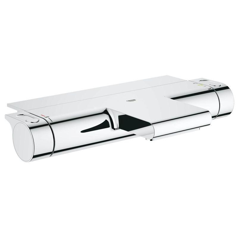 термостат для ванны grohe grohtherm 2000  34464001 с полочкой