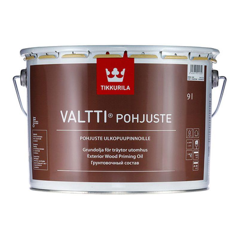 Купить Антисептик грунтовочный Tikkurila VALTTI PRIMER (POHJUSTE) бесцветный, 9л