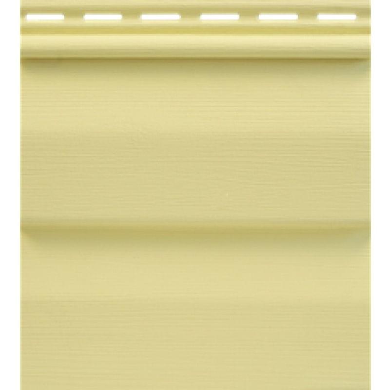 Сайдинг виниловый Tecos Премиум Корабельный Брус Светло-желтый 3660х230мм<br>Бренд: Tecos;